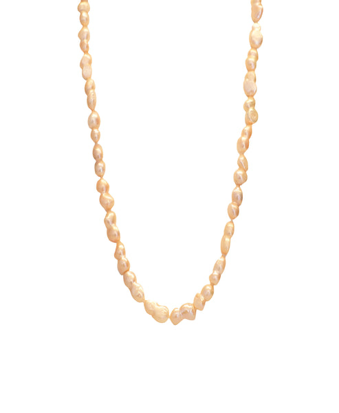 Cultured Pearl 10mm Necklace- 47""