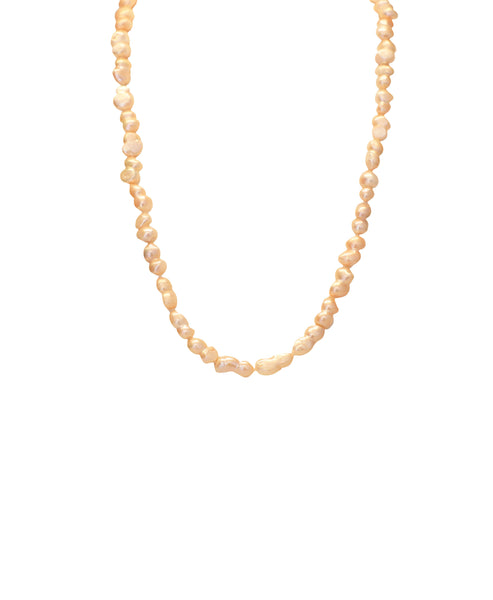 Cultured Pearl 10mm Necklace- 30""