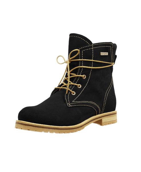 Suede Lace Up Boot