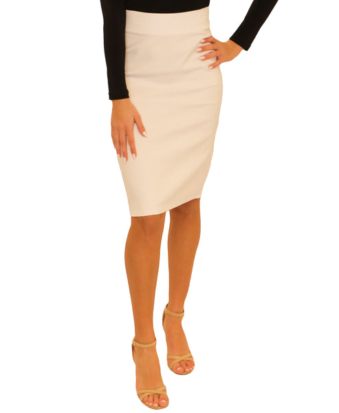 Zoom view for Pencil Stretch Skirt