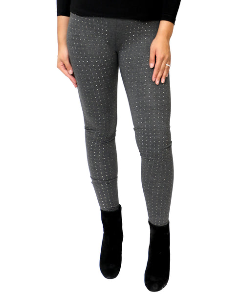 Zoom view for Crystal Studded Leggings