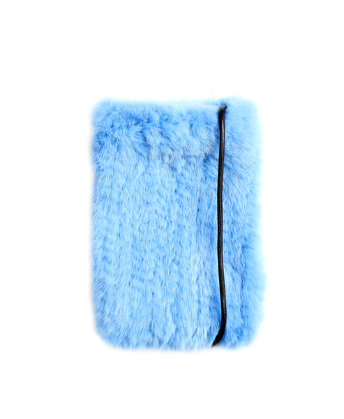 Zoom view for Mink Fur Cell Phone Holder A
