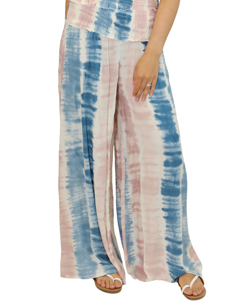 Zoom view for Tie-Dye Wide Leg Pants A