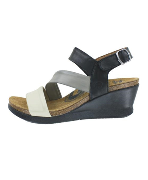 Leather Wedge Comfort Sandal
