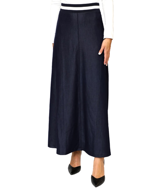 Zoom view for Chambray Maxi Skirt - Fox's