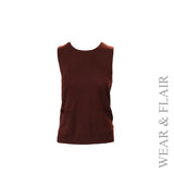 Sleeveless Knit Vest