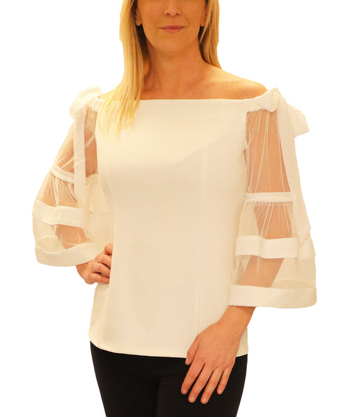 Zoom view for Off The Shoulder Blouse