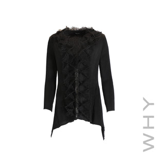 Pleated Long Sleeve Jacket