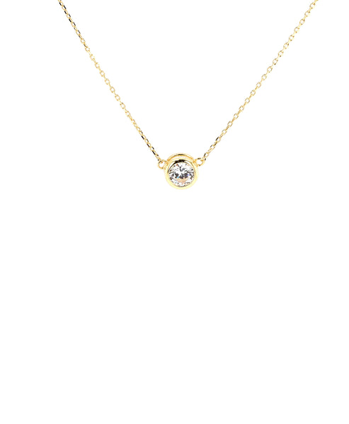 Zoom view for Solitaire Necklace A