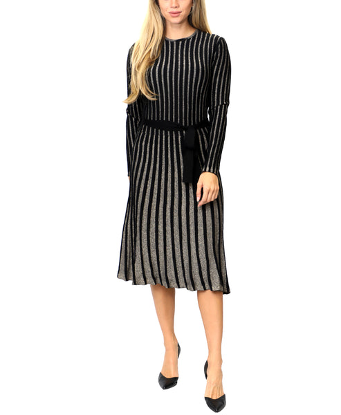 Zoom view for Sweater Dress w/ Gold Lurex