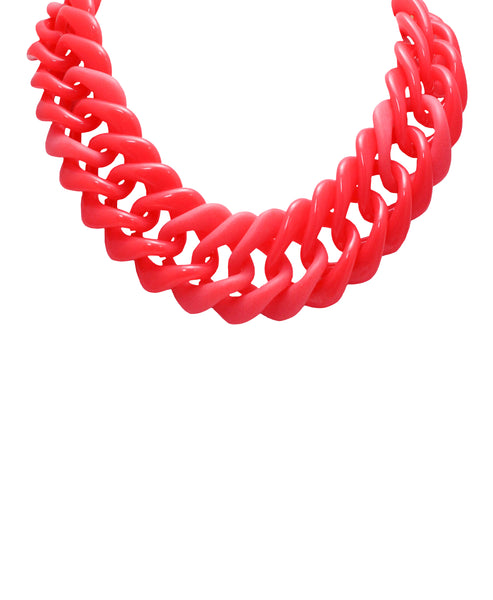 Zoom view for Oval Linked Statement Necklace