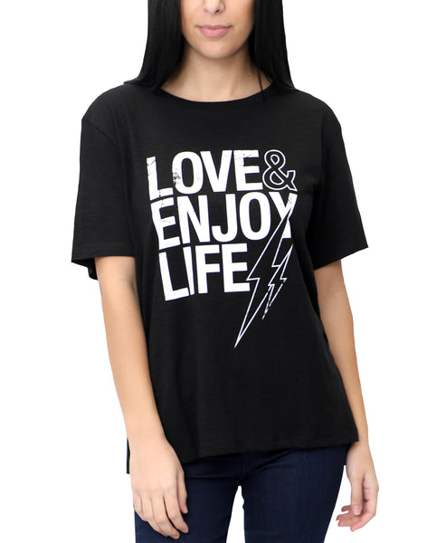 Zoom view for Love & Enjoy Life Graphic Tee