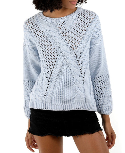 Zoom view for Cable Knit Sweater