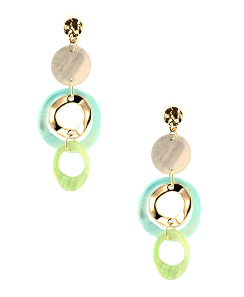 Zoom view for Circle Drop Earrings - Fox's