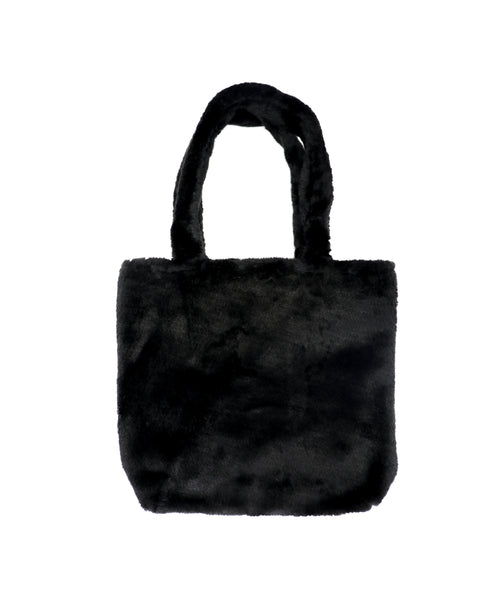 Zoom view for Square Faux Fur Tote
