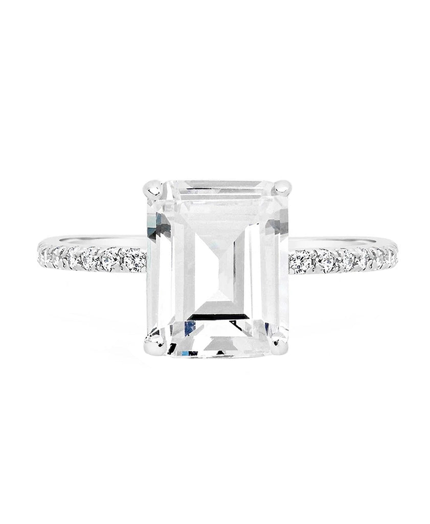 Cubic Zirconia Statement Ring
