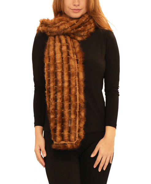 Mink Fur Scarf - Fox's
