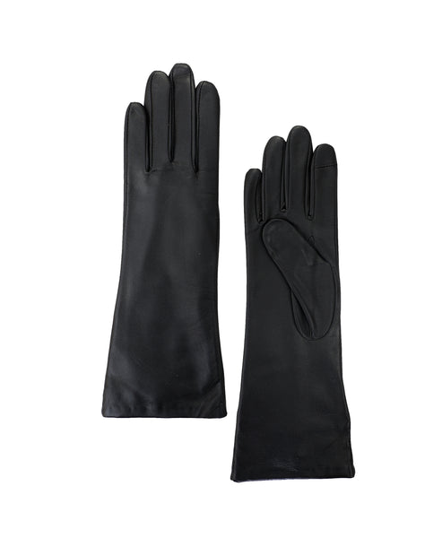 Zoom view for Touch Screen Long Leather Gloves