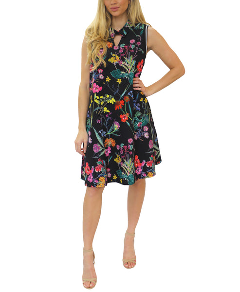 Zoom view for A-Line Floral Dress