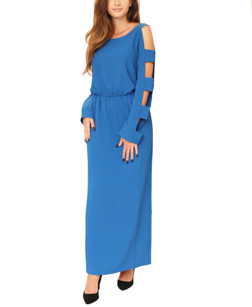 Maxi Dress w/ Cutouts