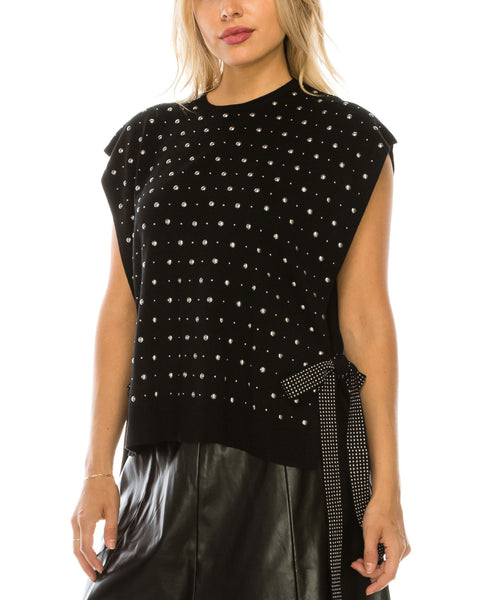 Zoom view for Studded Sweater Vest A