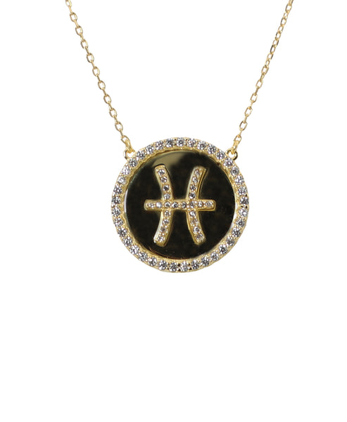 "Zoom view for ""Pisces"" Zodiac Necklace - Fox's"