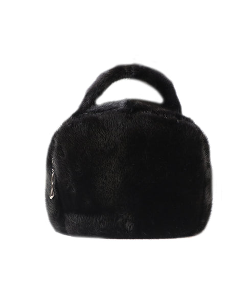 Full Skin Mink Fur Handbag