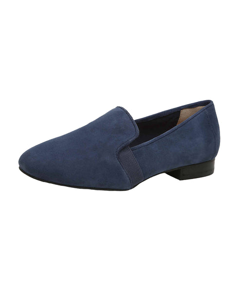 Suede Flat Loafer