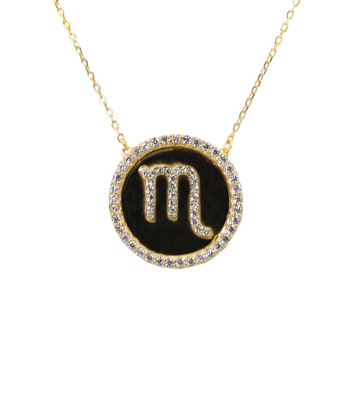 "Zoom view for ""Scorpio"" Zodiac Necklace - Fox's"