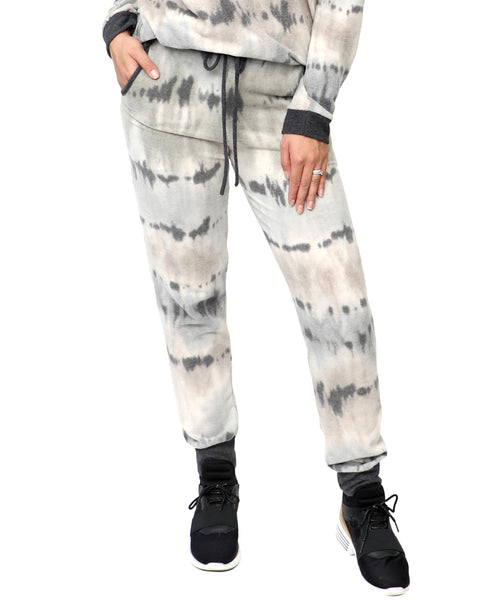 Zoom view for Tie Dye Joggers A