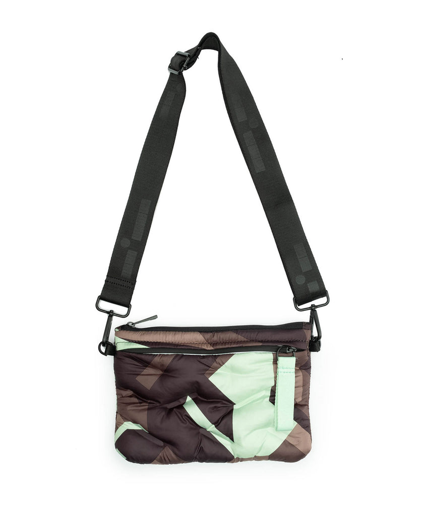 Camo Quilted tote- 3 pc Set