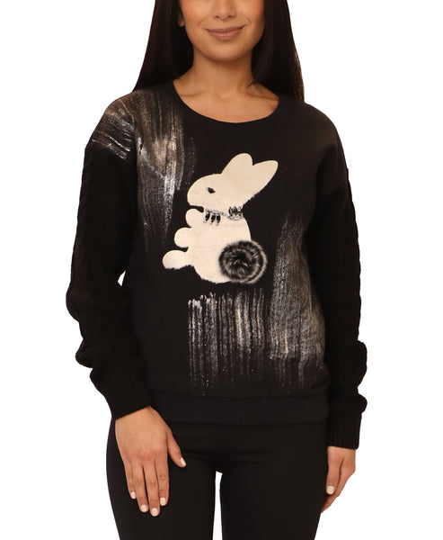 """Bunny"" Sweater - Fox's"