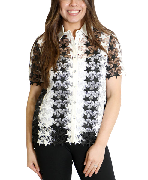 Zoom view for Star Embroidered Shirt