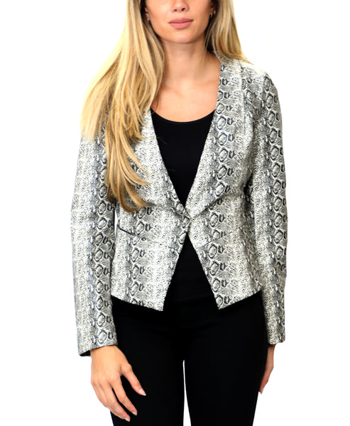 Zoom view for Snake Print Blazer
