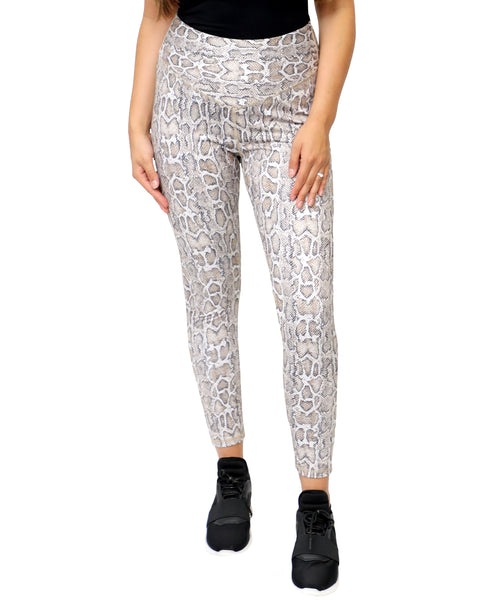 Zoom view for Snake Print Legging