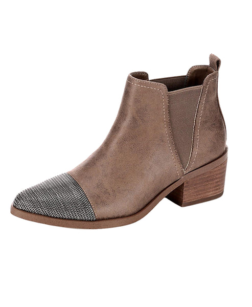 Western Inspired Bootie - Fox's