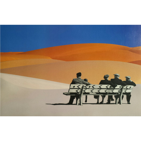 """Desert bench""    Original"