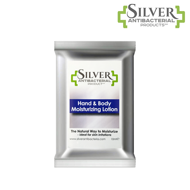 Silver Antibacterial Hand & Body Moisturizing Lotion - 0.35 oz