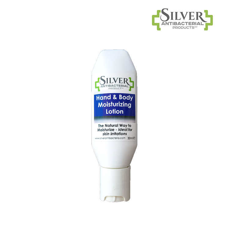 Silver Antibacterial Hand & Body Moisturizing Lotion - 1 oz