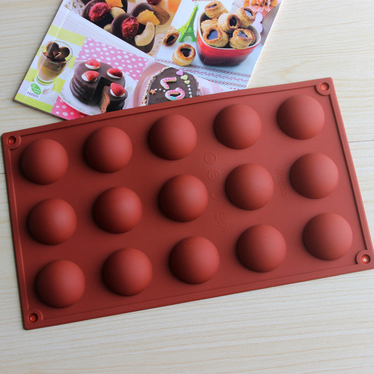 Creative DIY 15 even dome silicone cake mold - Gina and Marc Kitchen