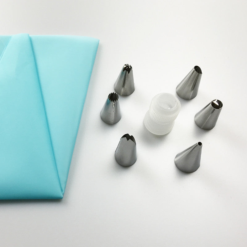 8 Piece/Set Silicone Kitchen Accessories - Gina and Marc Kitchen