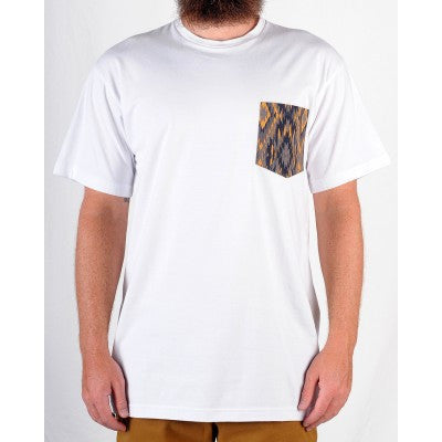 Grand Flavour - Aztec Pocket Tee - White