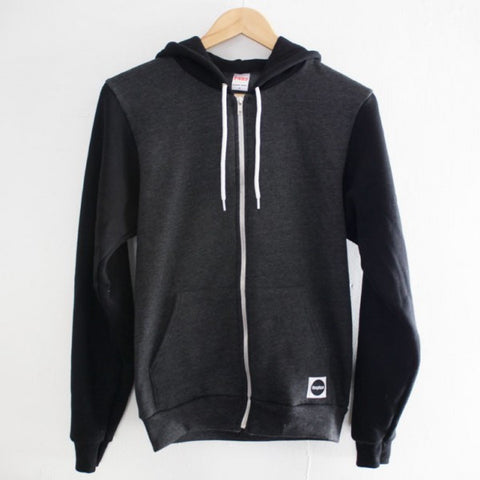 Boogtique Two Tone Zip Hood
