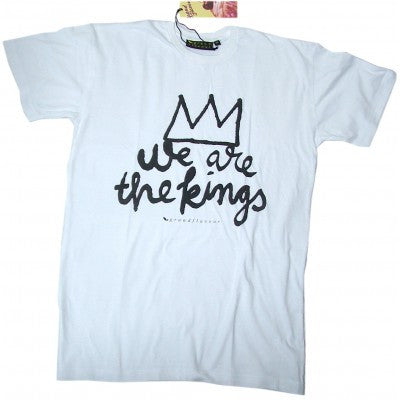 Grand Flavour - Kings Tee - White