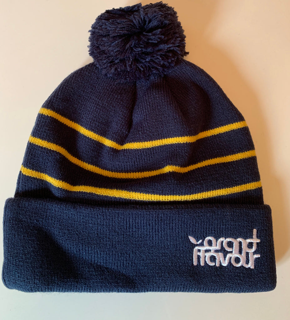 Grand flavour stripe beanie