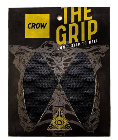Crow grips monster