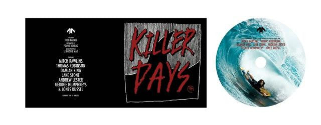 Killer Days DVD