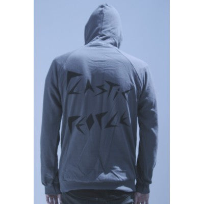 Plastic People - Logo Hoody Grey