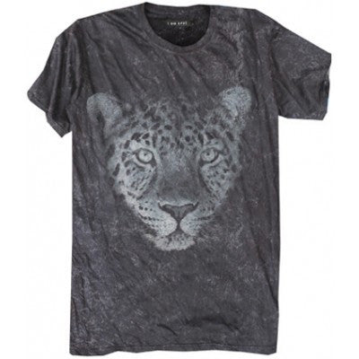 I Am None - Stone Leopard Tee