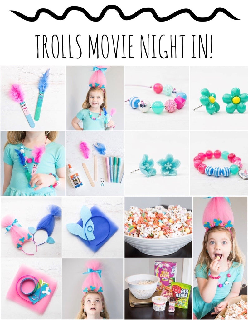 Trolls Movie Night In!
